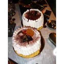 Desserts glacés : Les vacherins Vanille - Framboise